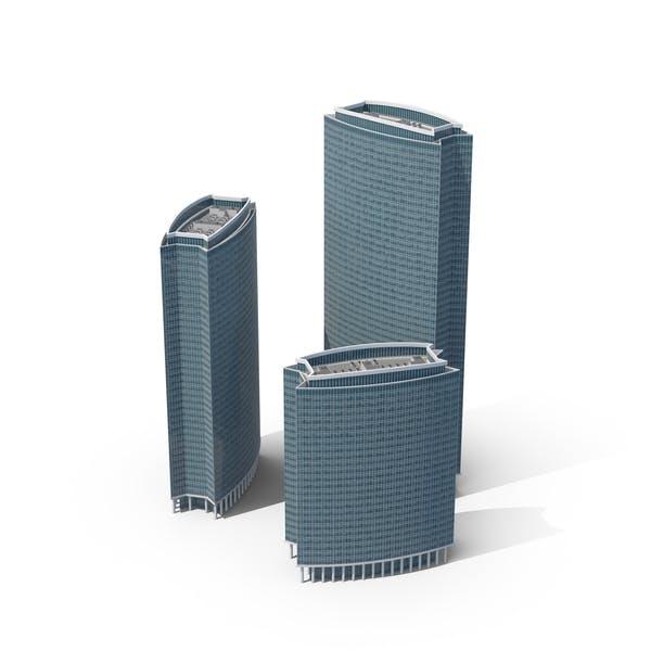 Бизнес-центр небоскребы