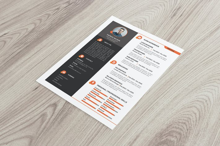 Thumbnail for Resume Template