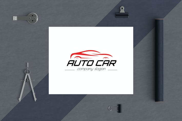 Auto Car Business Logo Template