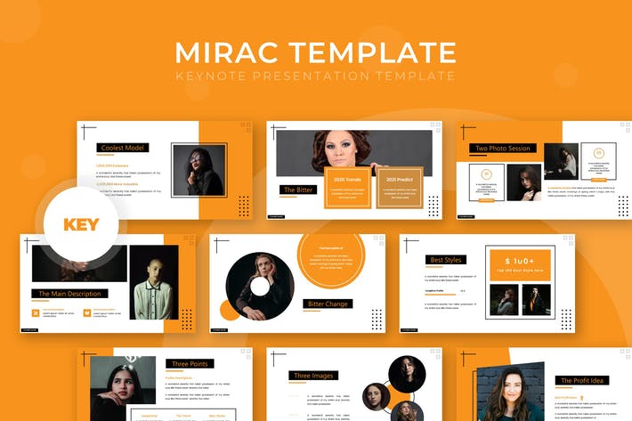 Thumbnail for Mirac - Keynote Template