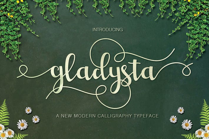 Thumbnail for Gladysta Script