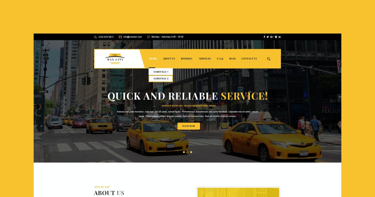 Download City Taxi by PremiumLayers