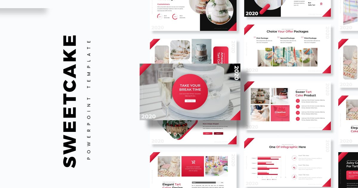 Download Sweetcake - Powerpoint Template by aqrstudio