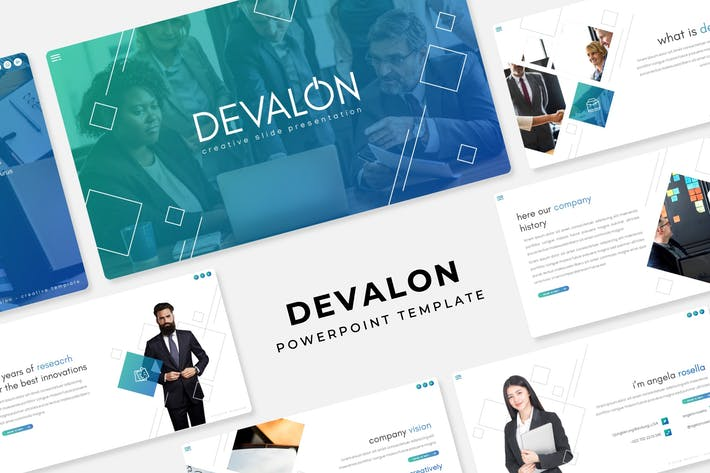 Thumbnail for Devalon - Plantilla de PowerPoint