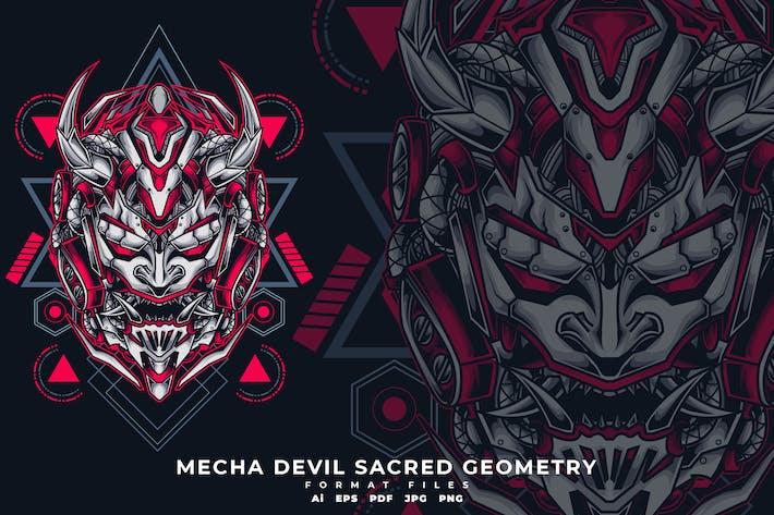 Thumbnail for Mecha Devil Sacred Geometry