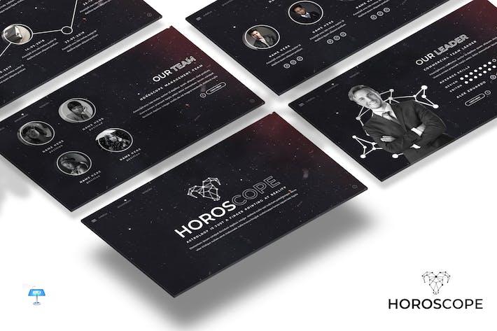 Thumbnail for Horoscope - Keynote Template