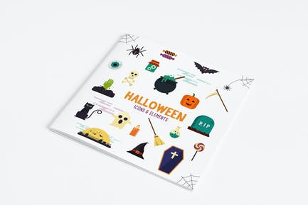 Halloween Icons and Elements