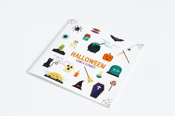 Thumbnail for Halloween Icons and Elements