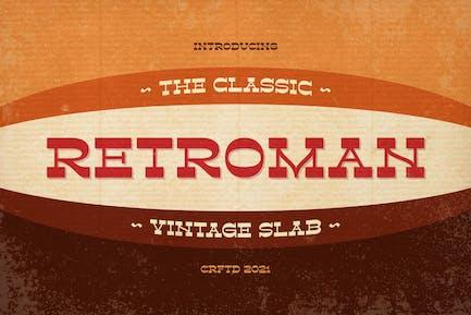 Retroman - Vintage Slab