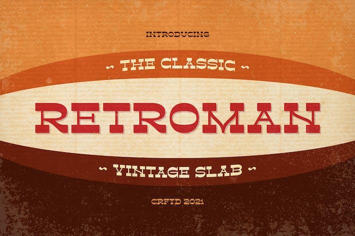 Retroman - Losa vintage