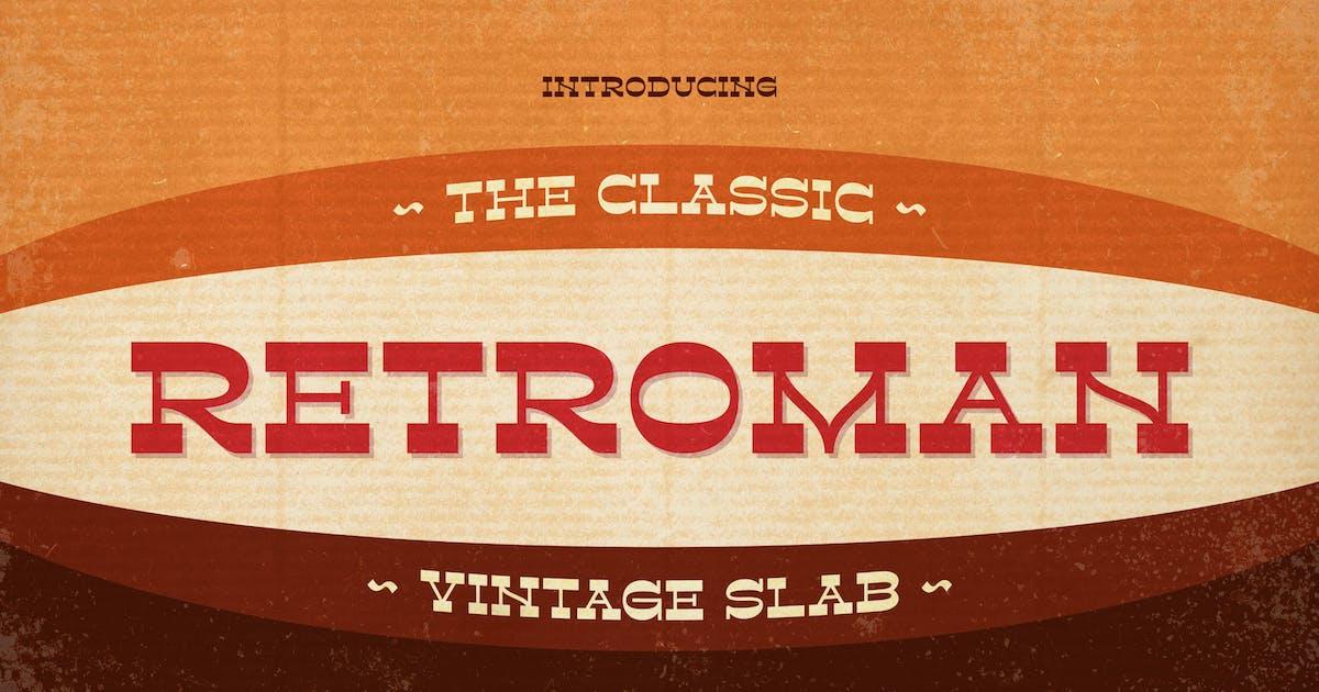 Download Retroman - Vintage Slab by Alterzone