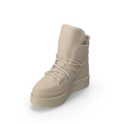 Женская ботинок