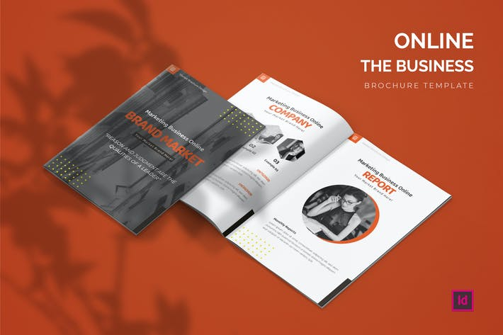 Thumbnail for Business Online  - Brochure Template