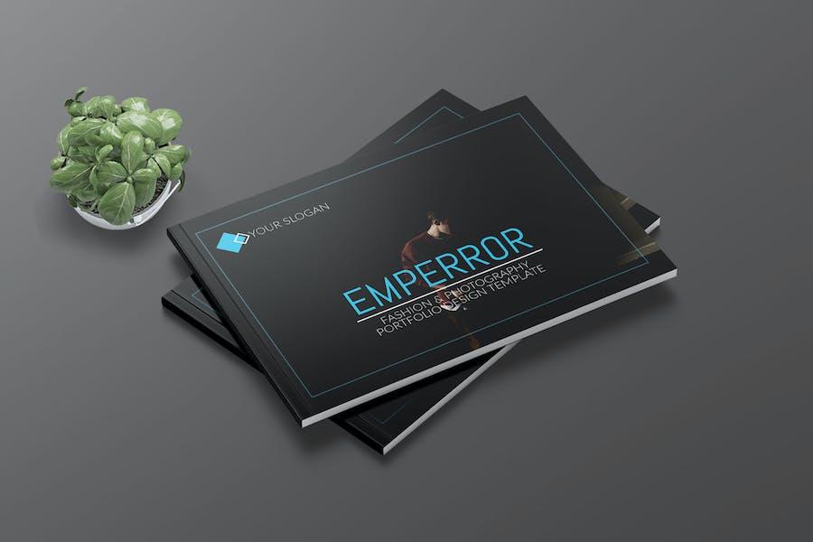 EMPERROR - Fashion A4 Landscape Template