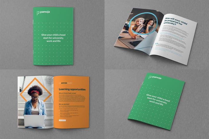Thumbnail for Brochure and Catalog Mockups V2