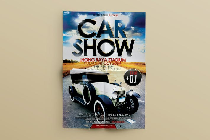 Thumbnail for Car Show flyer Event