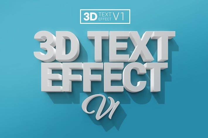 Thumbnail for 3D Text Effects V1