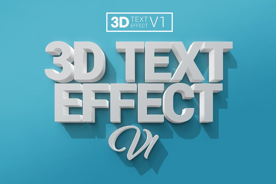 3D Text Effects V1