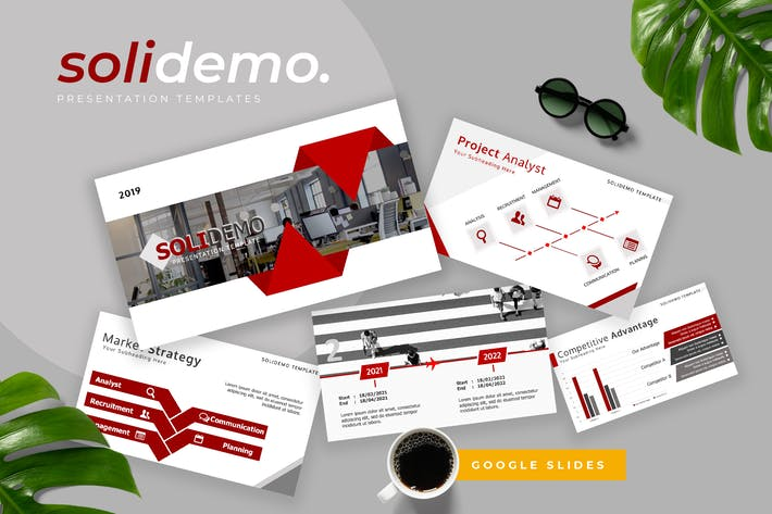 Solidemo - Pitch Deck Google Slides