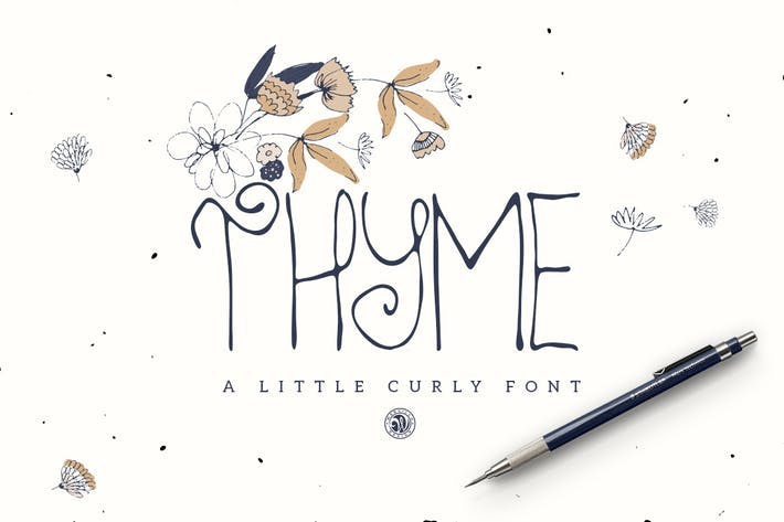 Thumbnail for Thyme Font