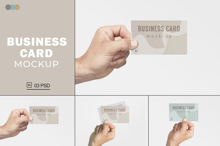 Thumbnail for Business Card Mockups V.9