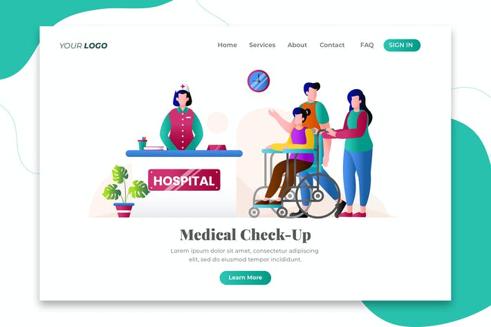 Thumbnail for Medical Check-Up - Landing Page