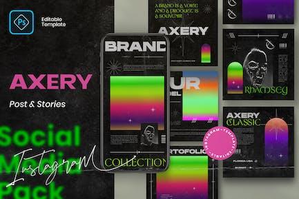 Axery - Post & Story Instagram