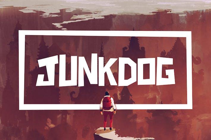 Thumbnail for Junkdog Typeface
