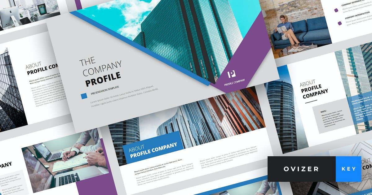 Download Ovizer - Company Profile Keynote Template by StringLabs