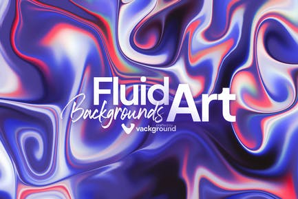 Fluid Art Backgrounds