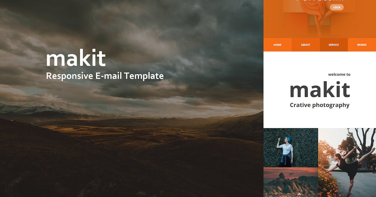 Download makit Mail - Responsive E-mail Template by williamdavidoff