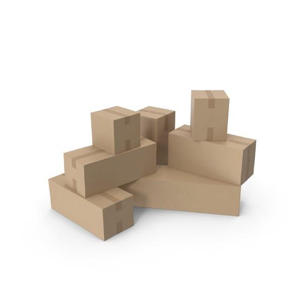 Thumbnail for Картонные коробки
