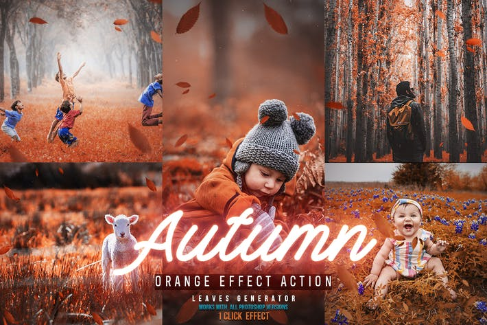 Thumbnail for Autumn Photoshop Actions