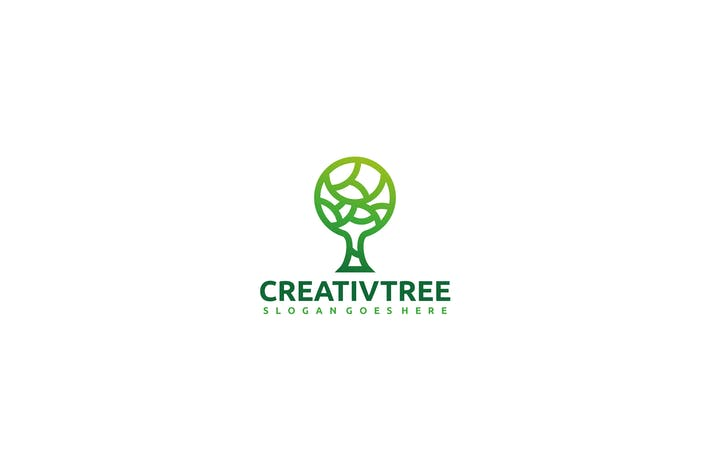 Thumbnail for Creative Tree Logo