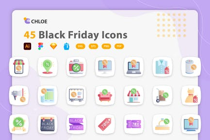Chloe - Black Friday Icons