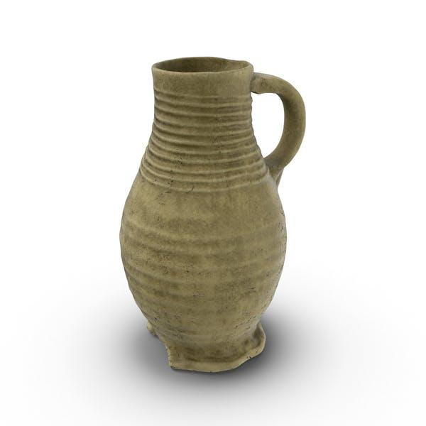 Thumbnail for Jarra de vino de cerámica medieval