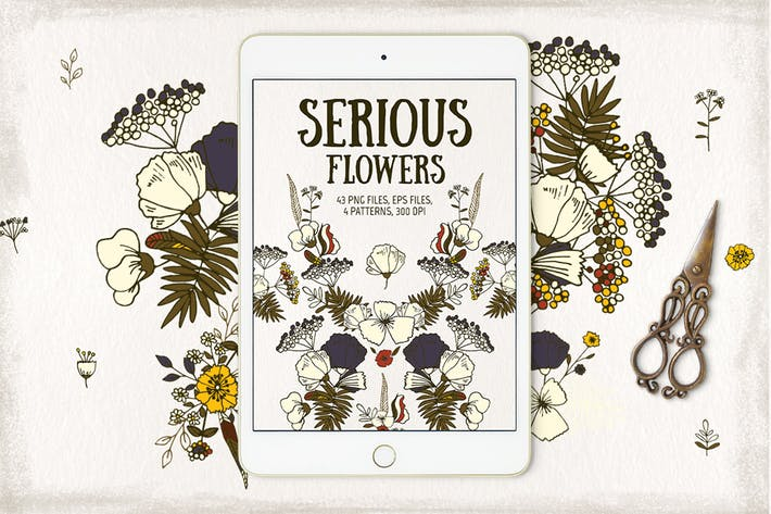 Thumbnail for Serious Flowers