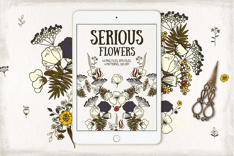 Serious Flowers