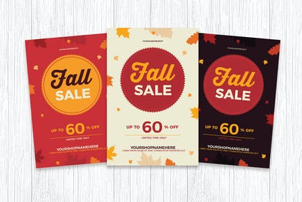 Fall / Autumn Sale Flyer