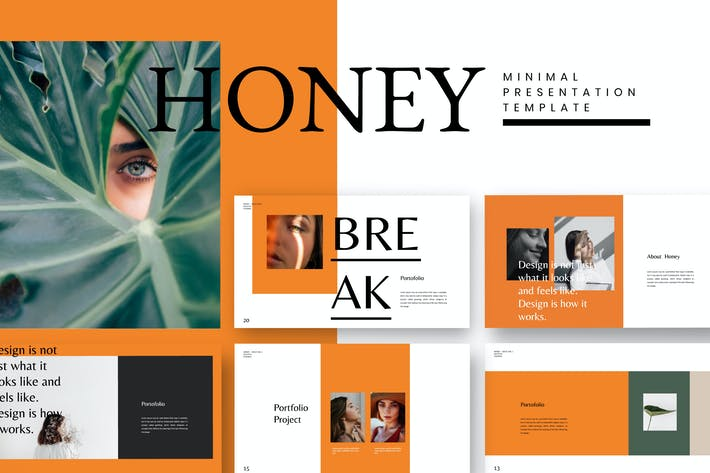 Thumbnail for HONEY - Google Slide Business