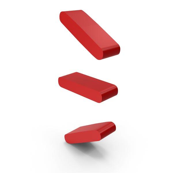 Red Lines Symbol