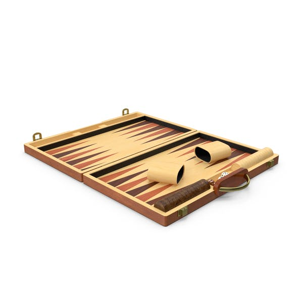 Wooden Backgammon Board Game Set