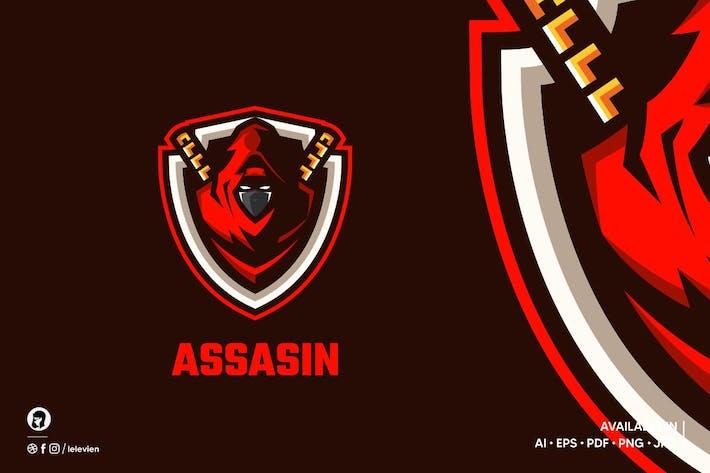 Assasin logo template