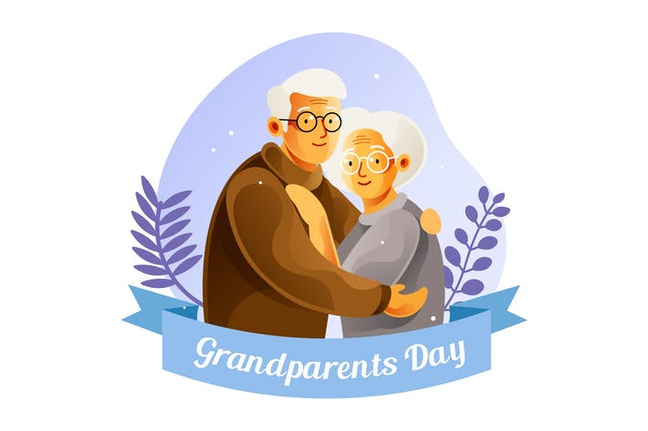 Thumbnail for National grandparents day illustration