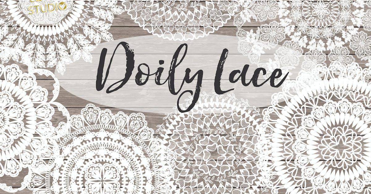 Download Vector Rustic Doily lace by designloverstudio