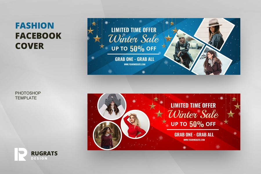 Fashion R4 Facebook Cover Template