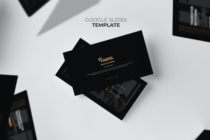 Thumbnail for Fadio : Project Consultant Services Google Slides