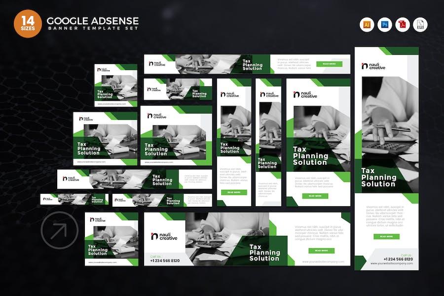 14 Steuerplanungslösung Google Adsense Web Banner