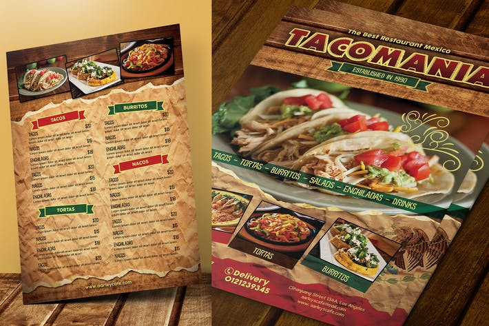 Thumbnail for Mexican Menu