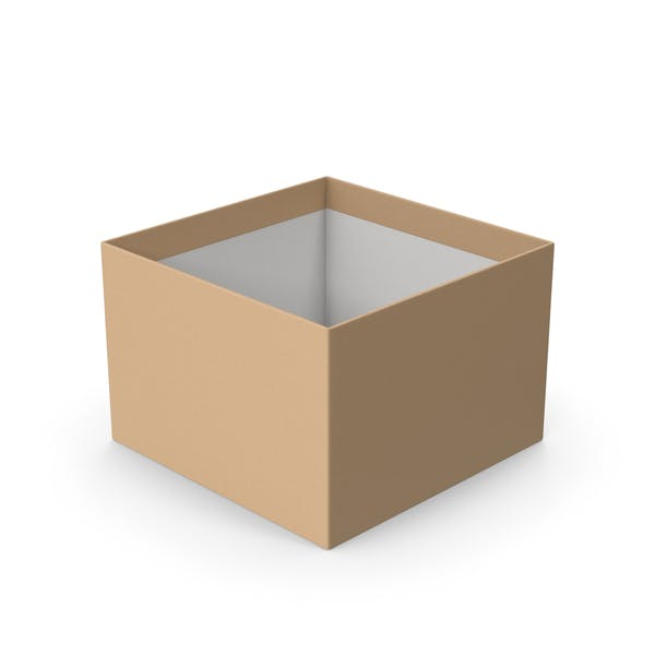 Картонная коробка без крышки